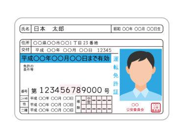 リサイクルショップの買取申込に必要な身分証明書(本人確認書類)の提示はどれが良い?